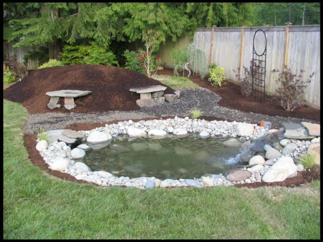 landscape contractor water feature