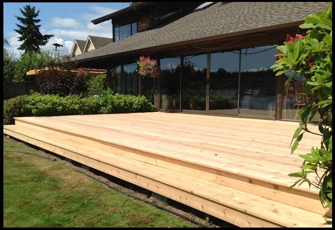 deck installation service
