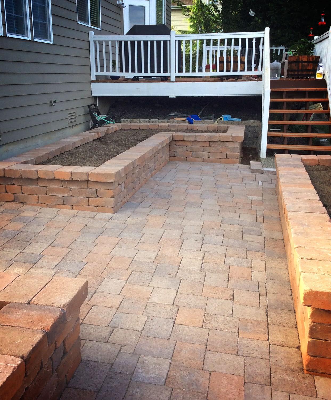 brick patio services washington