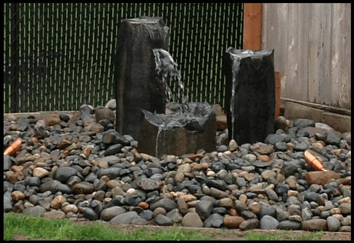 yard waterfall services