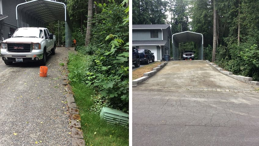 driveway installation services