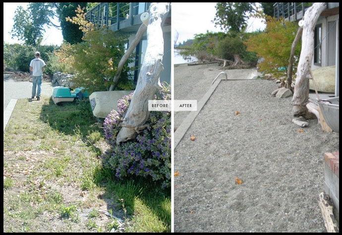 landscape contractor cleanup services